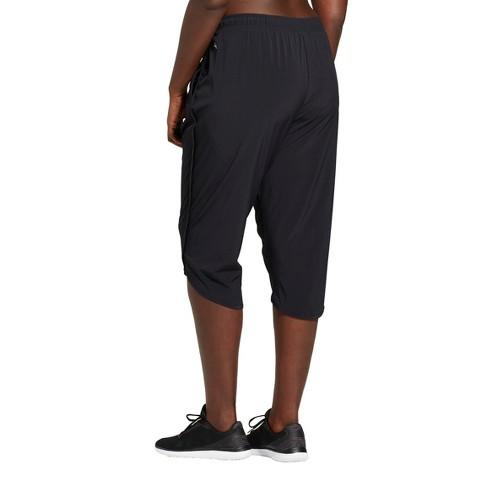 30fa575f772 Women s Plus Size Crop Woven Pants - JoyLab™ Black   Target