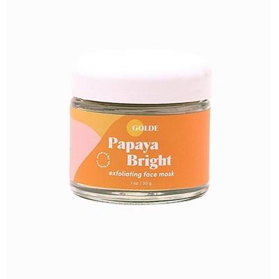 Golde Papaya Bright Superfood Face Mask - 1oz