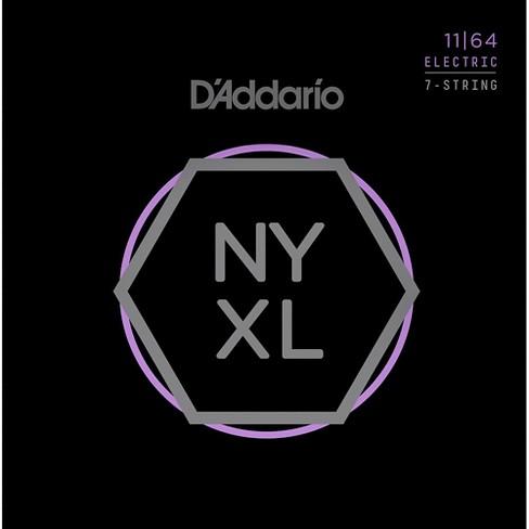 D'Addario NYXL1164 7-String Medium Nickel Wound Electric Guitar Strings (11-64) - image 1 of 2