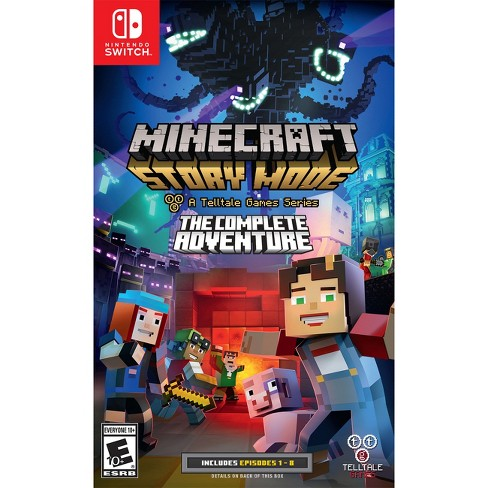 Minecraft Story Mode The Complete Adventure Nintendo Switch Target - Minecraft spiele switch