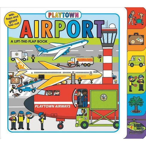 Playtown: Airport - by  Roger Priddy (Board_book) - image 1 of 1