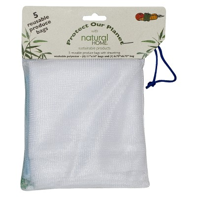 Natural Home Veggie Bags