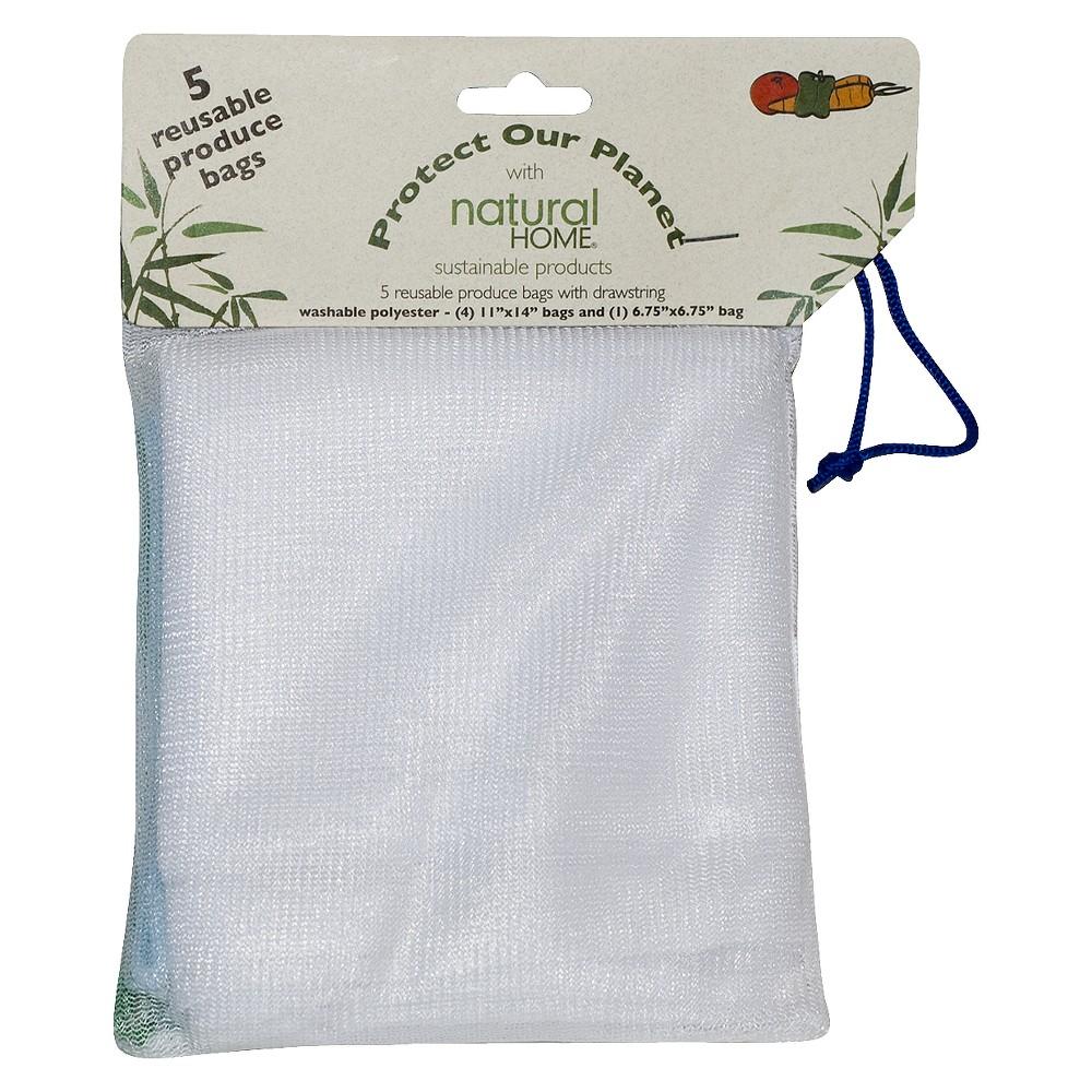Natural Home Veggie Bags, food storage bags