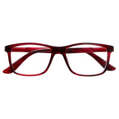 ICU Eyewear Novato – Large Rectangular Red