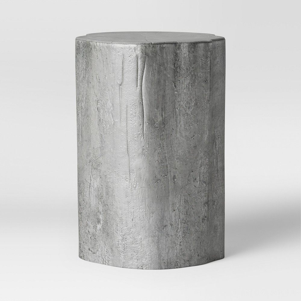 Tree Trunk Accent Table Silver - Threshold