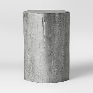 Tree Trunk Accent Table Silver - Threshold™