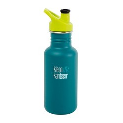 Klean Kanteen 18oz Classic Stainless Steel Water Bottle with Sport Cap