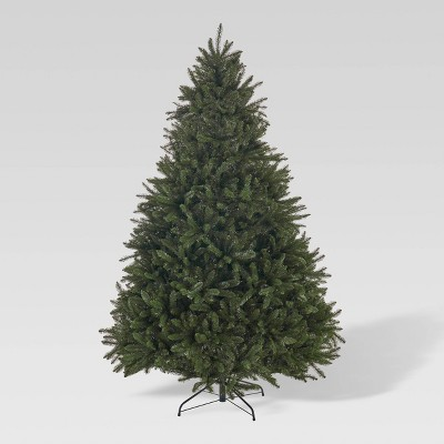 7ft Norway Spruce Hinged Full Artificial Christmas Tree - Christopher Knight Home