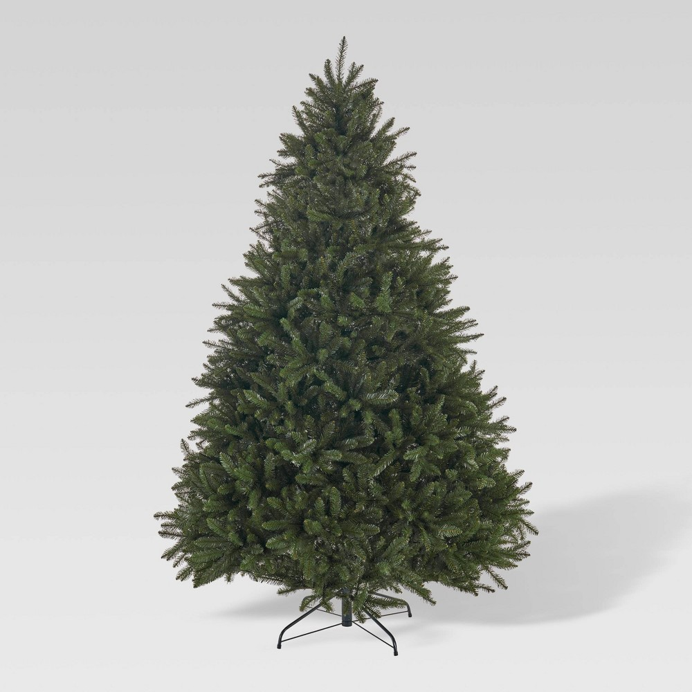 7ft Norway Spruce Hinged Full Artificial Christmas Tree Christopher Knight Home