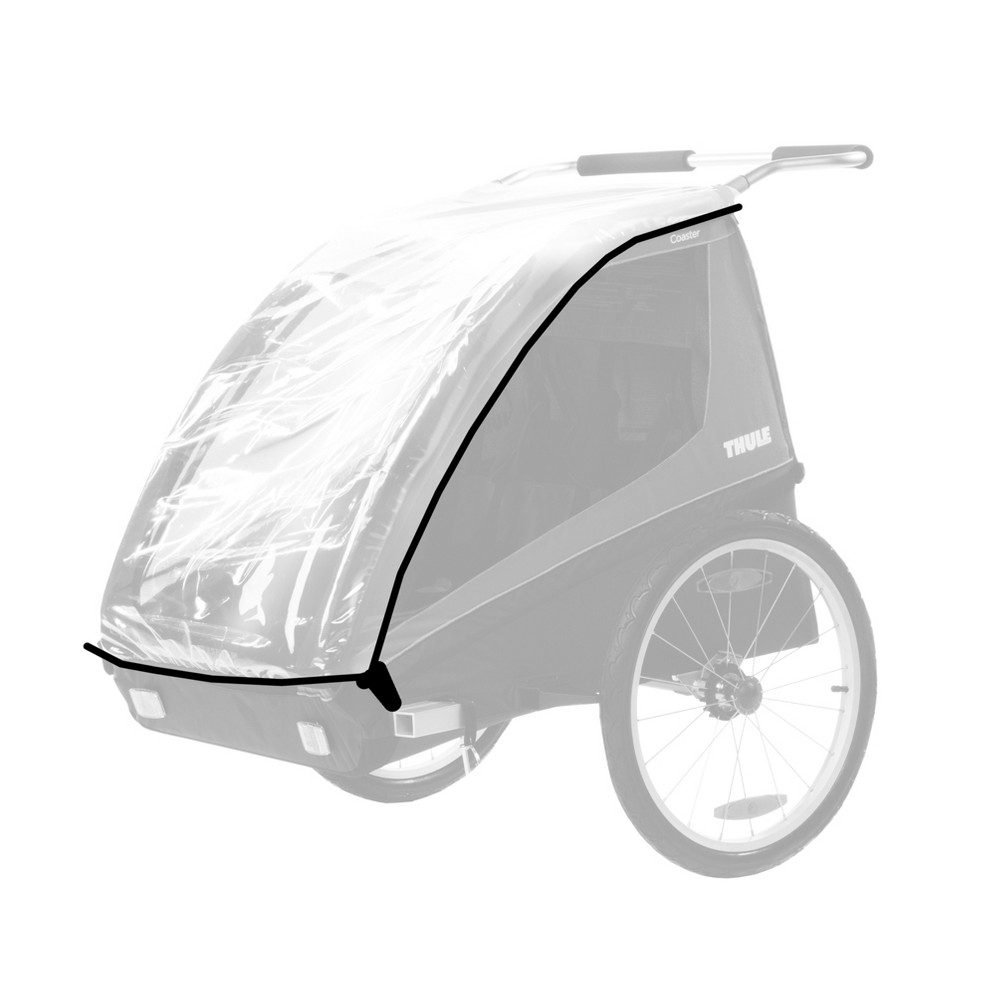 Image of Thule Rain Cover - Coaster/Cadence - Clear
