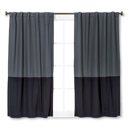 Color Block Curtains Wayfair