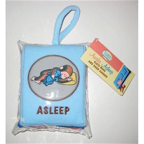 Curious Baby Awake/Asleep Cloth Book (Curious George) - (Curious Baby Curious George) by  H A Rey - image 1 of 1