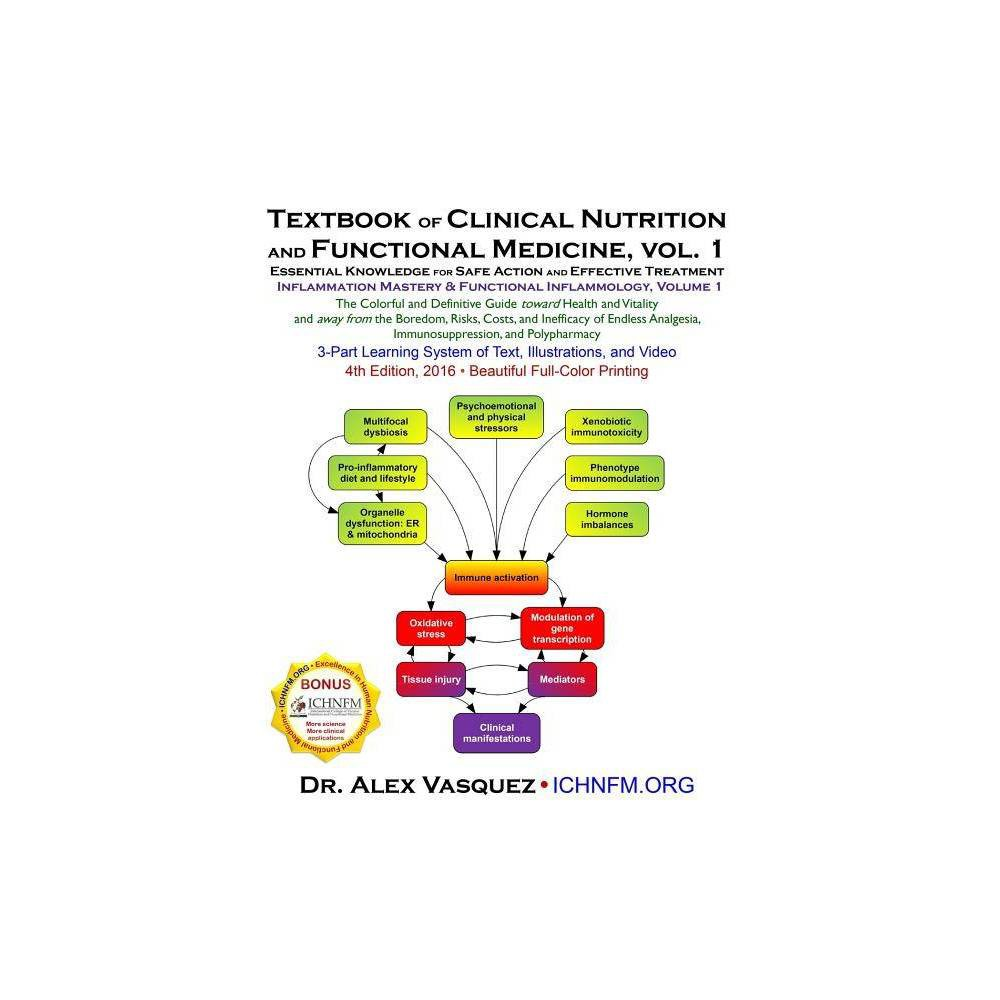 Textbook Of Clinical Nutrition And Functional Medicine Vol 1 4 Edition By Alex Vasquez Paperback