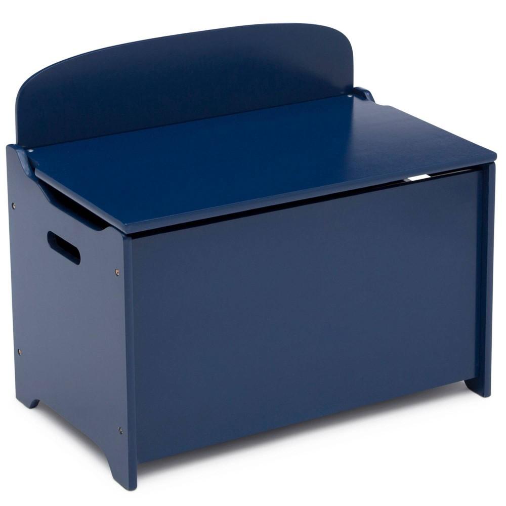 Delta Children Mysize Deluxe Toy Box Deep Blue