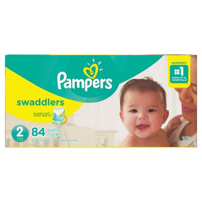 Pampers Swaddlers Diapers Super Pack - Size 2 (84ct)