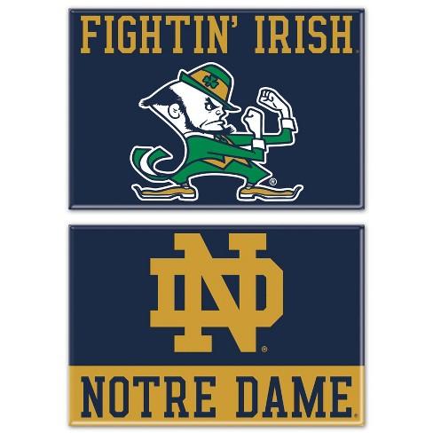Ncaa Notre Dame Fighting Irish 2pk Fridge Magnet Target