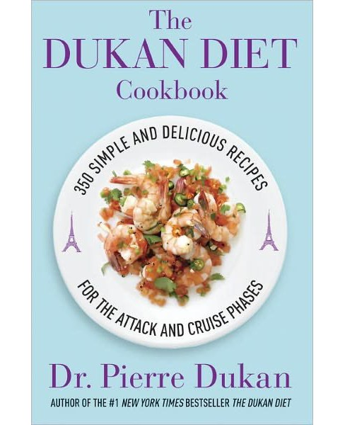 The Dukan Diet Cookbook: The Essential Companion to the Dukan Diet (Hardcover) (Pierre Dukan) - image 1 of 1