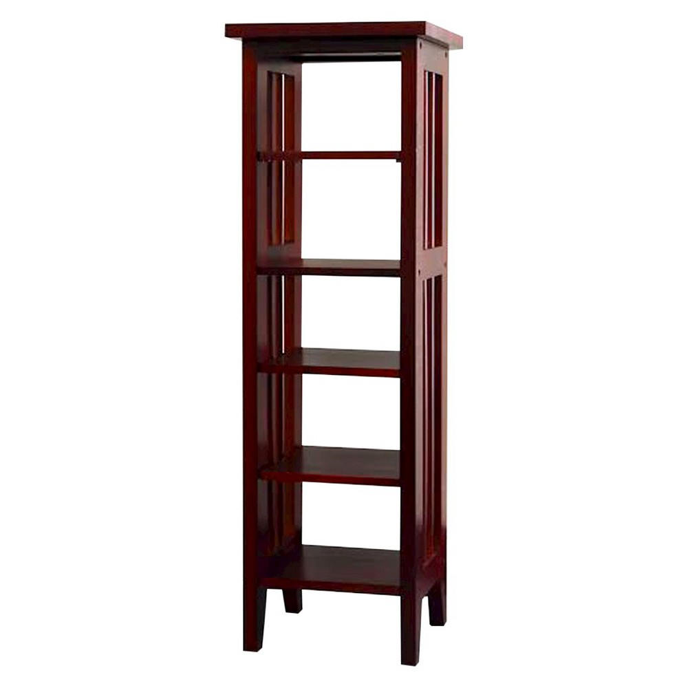 33.5 Media Storage Tower Cherry - Ore International, Brown