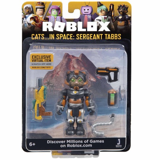 Roblox Cats in Space Sergeant Tabbs Core Figure image number null
