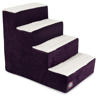 Majestic Pet 4 Step Villa - Purple Aubergine - Large