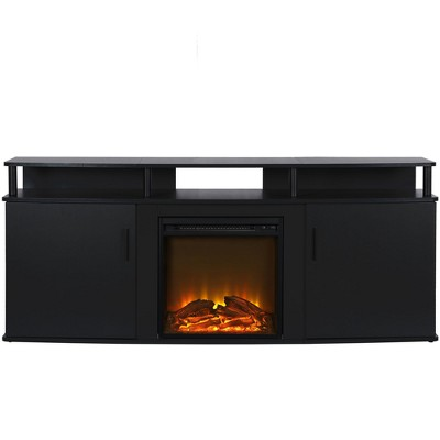 """Kimmel Electric Fireplace TV Console for TVs up to 70"""" - Room & Joy"""