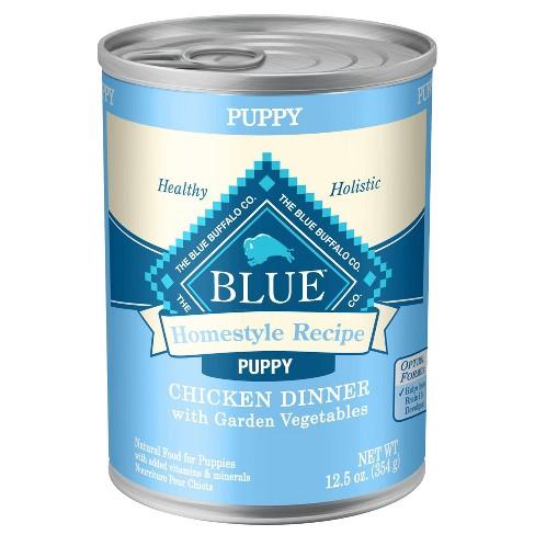 Blue Buffalo Homestyle Recipe PUPPY Chicken Dinner - Wet Dog Food - 12.5oz - image 1 of 2