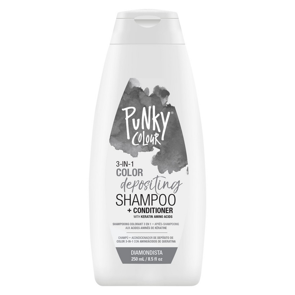 Image of Punky Colour 3-in-1 Color Depositing Shampoo and Conditioner - Diamondista - 8.5 fl oz
