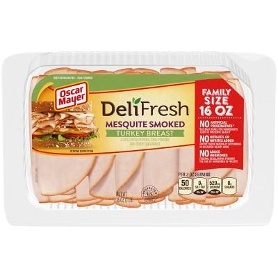Oscar Mayer Deli Fresh Mesquite Smoked Turkey Breast - 16oz