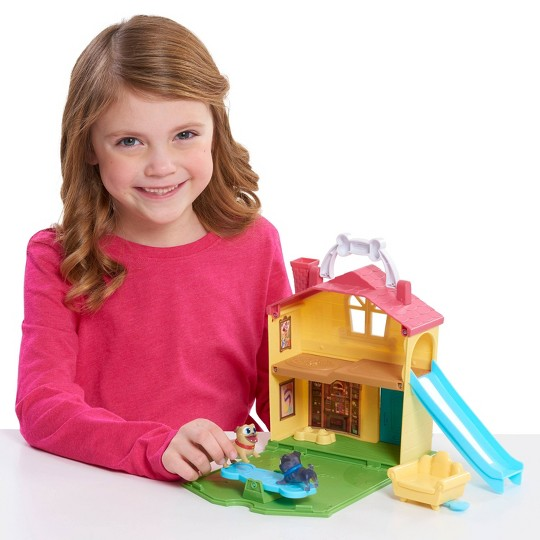 Puppy Dog Pals Stow N' Go Tree house Playset image number null
