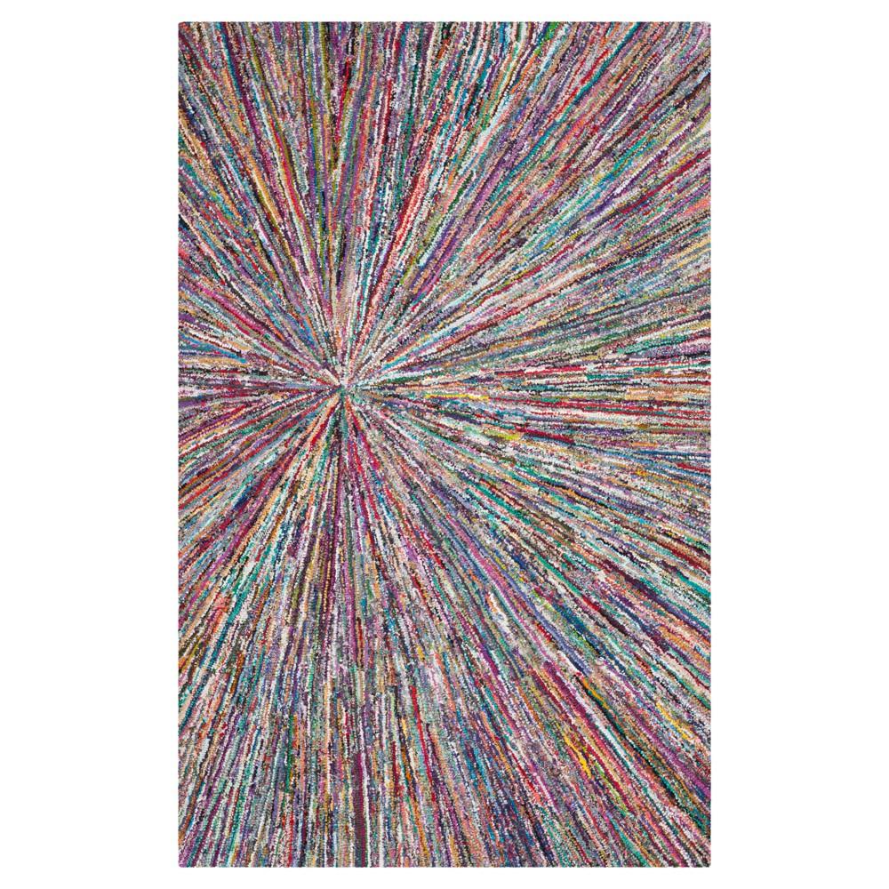 Nantucket Textured Area Rug 6'x9' - Safavieh, Multicolored