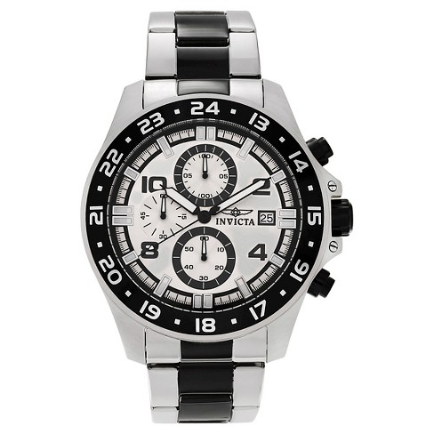 Men's Invicta Pro Diver 13869 Two-tone Steel Chronograph Watch - Black - image 1 of 3