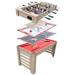 "Hathaway Madison 54"" 6-in-1 Multi Game Table"