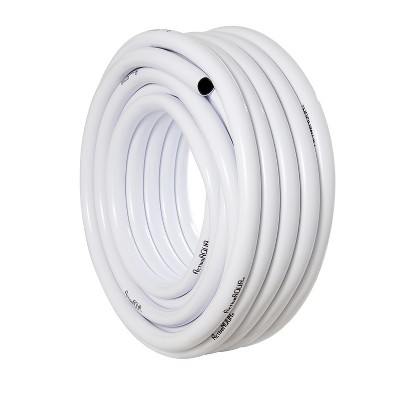 Active Aqua HGTB100 1 Inch Inside Diameter Vinyl Tubing for Indoor Vegetation Growing Hydroponic Irrigation Systems and Tanks, 100 Feet, White