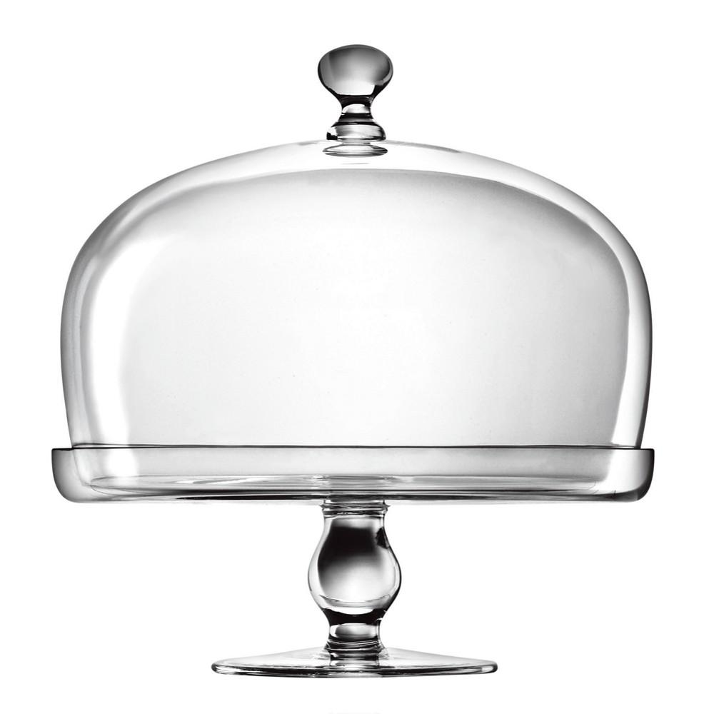 Image of Luigi Bormioli Michelangelo Cake Plate with Dome