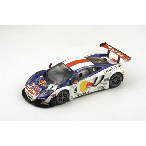 McLaren MP4 #9 12c Gt Red Bull Tour 2013 Winner S. Loeb/A. Parente Ltd 500 1/18 Model Car by Spark - image 1 of 3