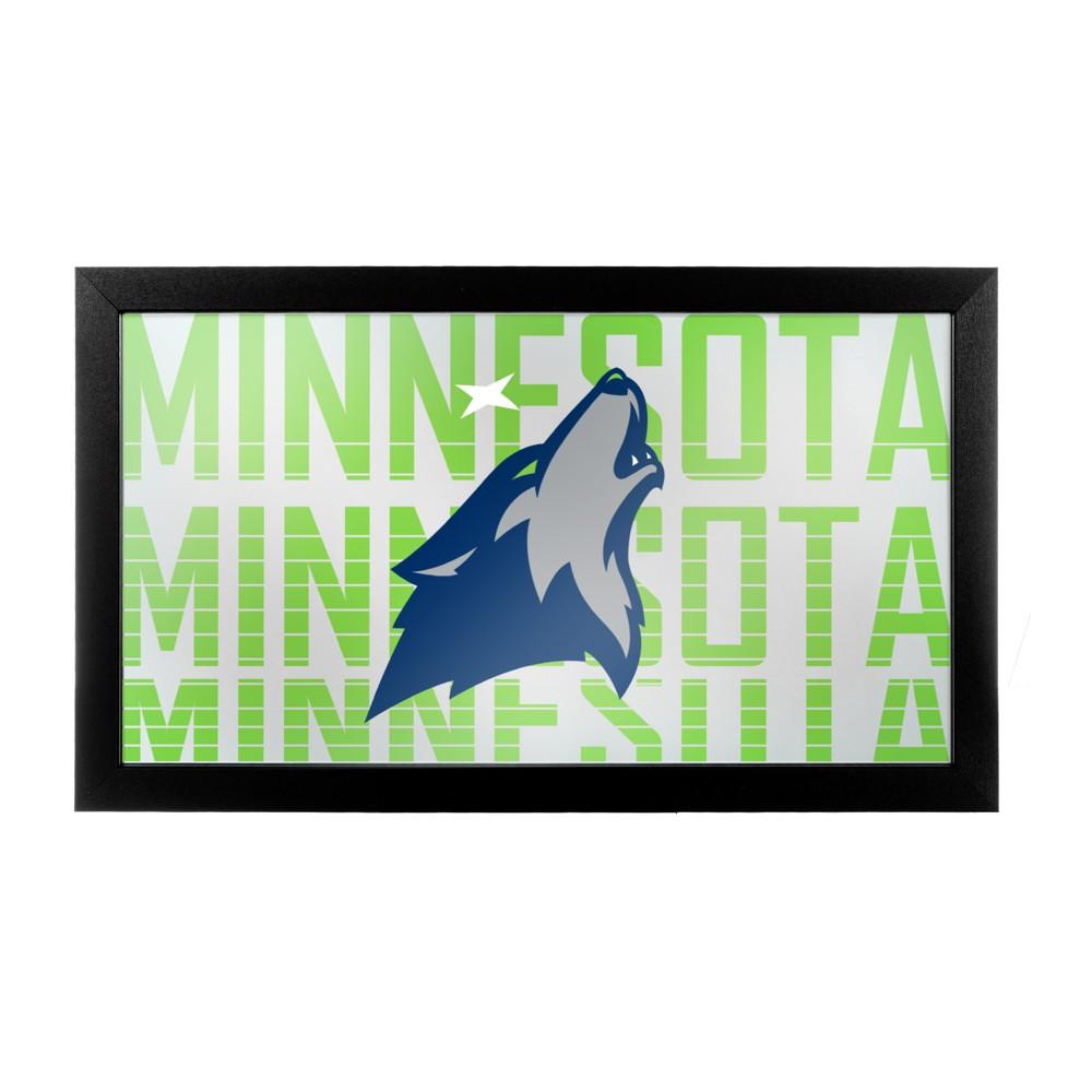 NBA Minnesota Timberwolves City Framed Logo Mirror