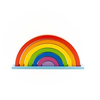 8pc Magical Rainbow 3D Puzzle