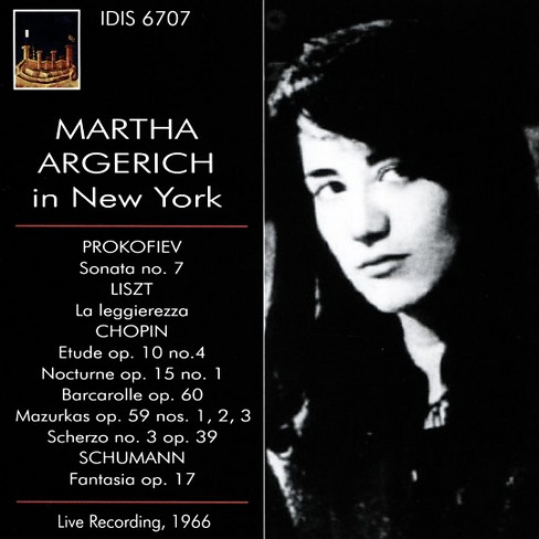 Martha argerich - Martha argerich in new york (CD) - image 1 of 1