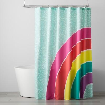 Rainbow Shower Curtain Pillowfort