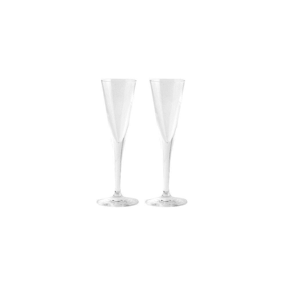 Image of 1.8oz 2pk Crystal Vodka Trumpet Glasses - Stoelzle, Clear