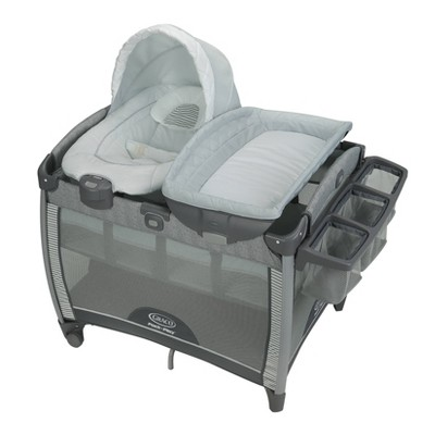 Graco Pack 'n Play Quick Connect Playard with Portable Bouncer - Raleigh