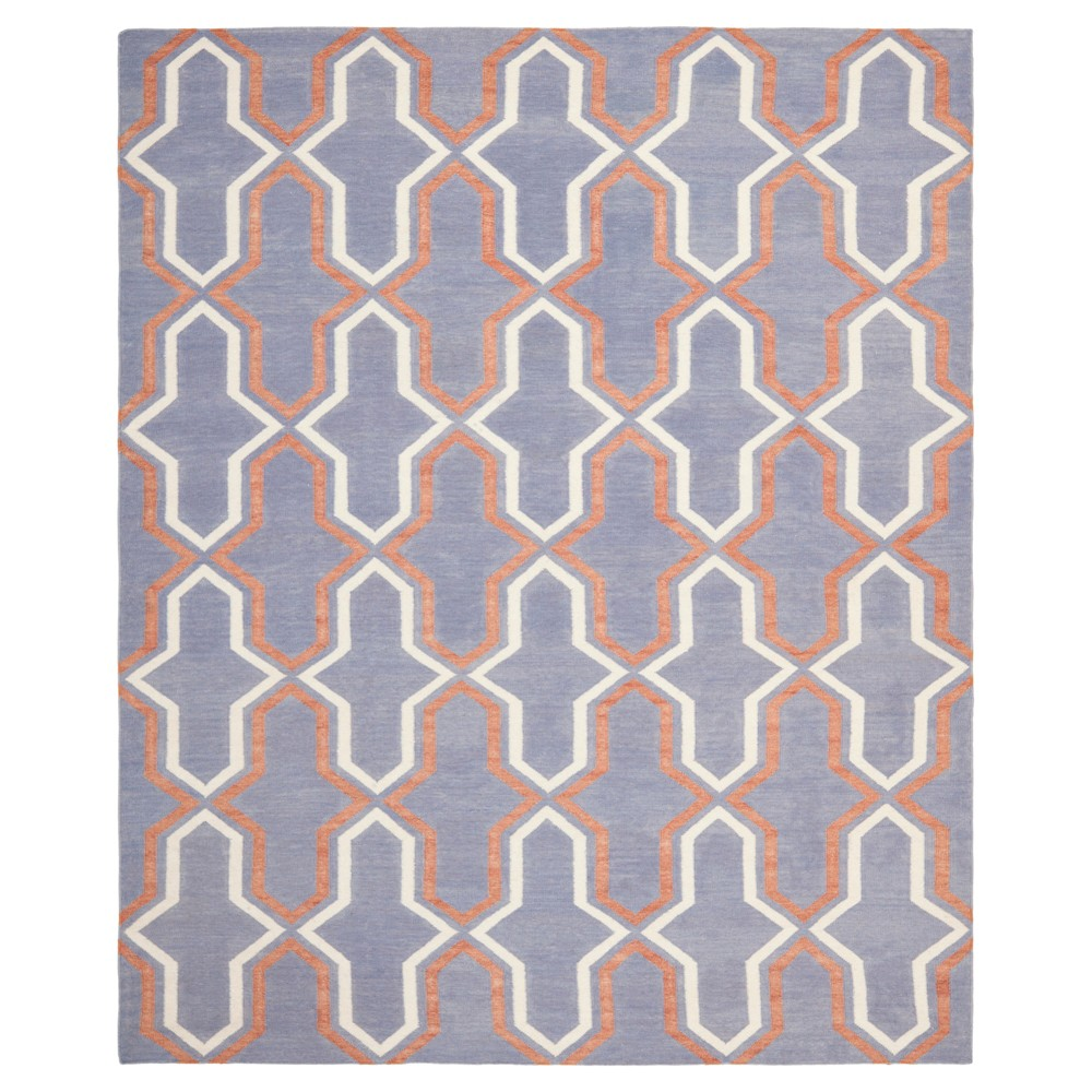 6'X9' Geometric Area Rug Purple - Safavieh, Purple/Multi