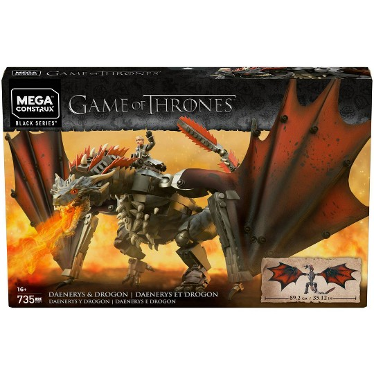 Mega Construx Game of Thrones Daenery's & Drogon image number null