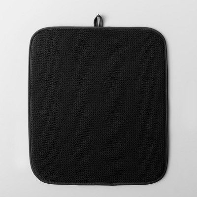 Kitchen Drying Mat Black - Made By Design™