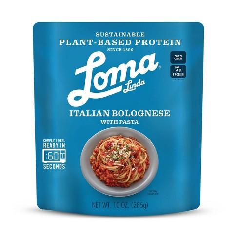 Loma Linda Plant-Based Protein Italian Bolognese - 10oz - image 1 of 1