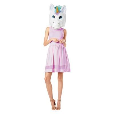 Adult Unicorn Mascot Costume Head - Hyde & EEK! Boutique™