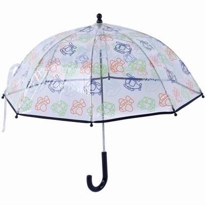 Laura Ashley Boys' Clear Dome Umbrella
