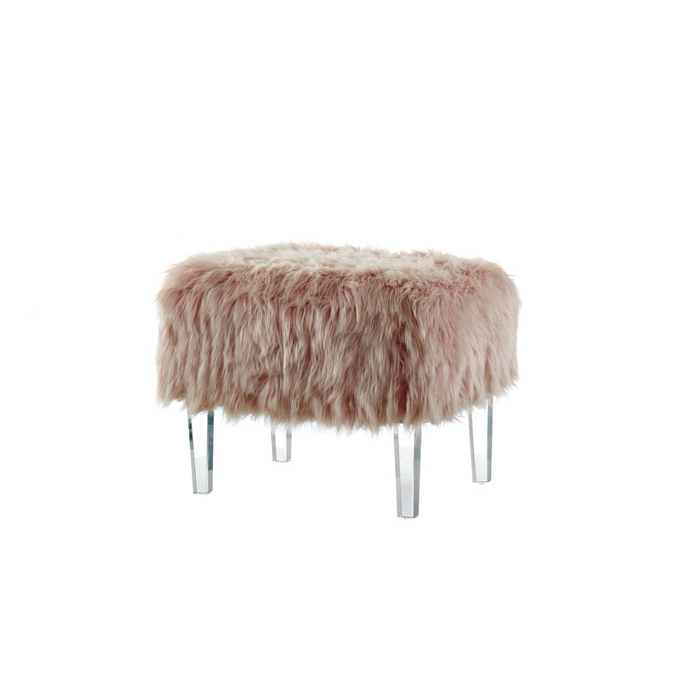 Magnificent Ottomans Classic Pink Homes Inside Out Pabps2019 Chair Design Images Pabps2019Com