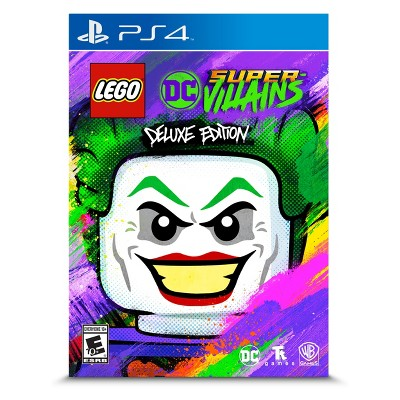 LEGO DC Super Villains: Deluxe Edition - PlayStation 4