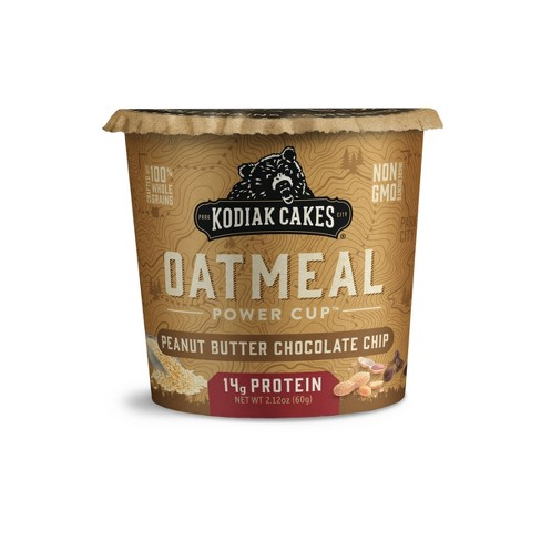 Kodiak Cakes Chocolate Peanut Butter Oatmeal in a Cup - 2.25oz - image 1 of 4